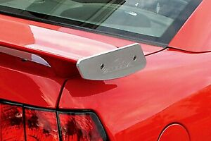 Steeda Mustang Billet Spoiler Winglets W Logo For 1994 09 Ford Mustang