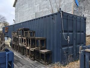 Shipping Container Bar Restaurant Equipment Electricity