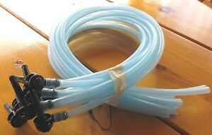 New Maple Syrup Taps spouts Sets 10 5 Hoses 5 16 tree Saver Spiles reusable
