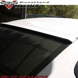 Painted F Style Abs Rear Roof Spoiler For Honda Civic 9th 2013 2015 Sedan
