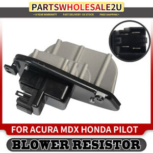 Hvac Blower Motor Resistor For Acura Mdx 2001 2002 2003 04 05 Honda Pilot 03 08