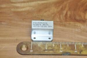 Pasternack Pf9817 Waveguide 10 15 Ghz Wr75
