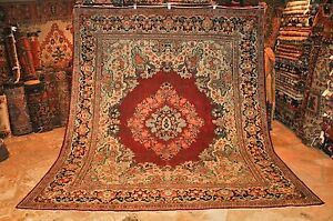 Rare Antique Persian French Design Sarouk 9 6 X 11 3 Area Rug