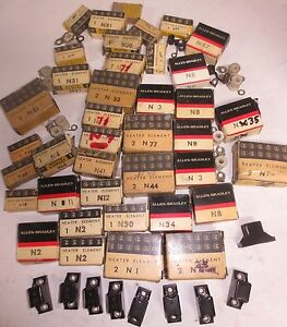 Allen bradley Various Thermal Overload Relay Heater Elements Large Lot