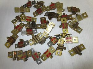 Square D Thermal Overload Relay Heater Elements See List Lot Of 31