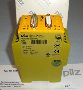 Pilz 774403 Safety Relay Pad si800 1024 5 Vdc Safe Monitoring Relay Pad New