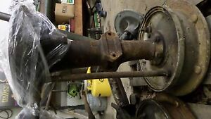 Ford 2n Tractor Rear Axle Assembly With Pedals And Brake Drums