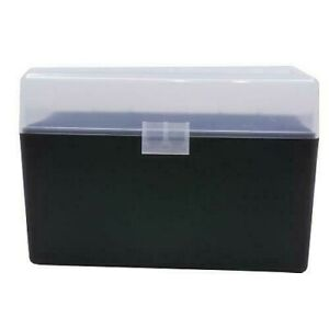 BERRY'S PLASTIC AMMO BOXES (5) CLEAR 50 Round 270  30-06  More- FREE SHIPPING