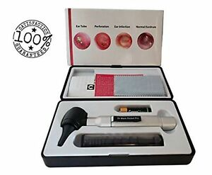4th Generation Dr Mom Led Pocket Otoscope And Both Adult And Pediatric Dispos