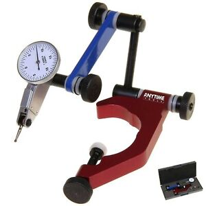 Anytime Tools Test Dial Indicator 0 0005 0 15 0 And Universal Holder Quill Clam