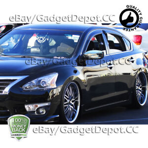 For 2013 2014 2015 2016 2017 Nissan Altima Chrome Mirror Cover Without Signal
