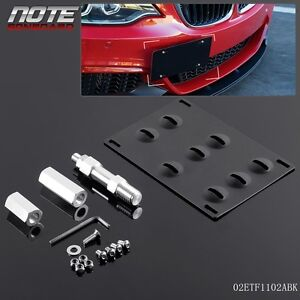 For Bmw F30 F32 F10 3 4 5 Series Bumper Tow Hook License Plate Mounting Bracket