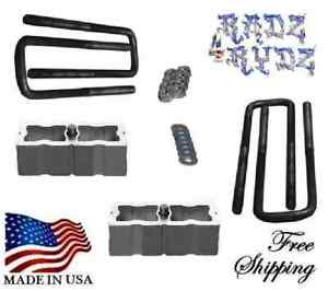1988 2010 Chevy Silverado Gmc Sierra C K 2500 3500 2 Lift Blocks Lift Kit