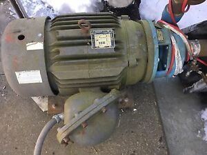 Goulds 3656 2 1 2x3 8 Centrifugal Pump 350 Gpm 210 Tdh 25 Hp 230 460 3 60