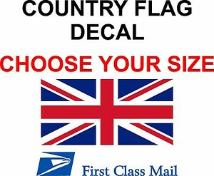 Britain Country Flag Sticker Decal 5yr Vinyl State Flag
