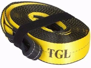 Tgl 3 x30ft Recovery Strap 30 000 Lb Capacity Tow Rope Auto Atv Winch Off Road