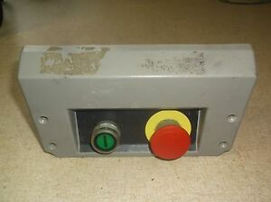 Hobart Model Uws Meat Packer Start stop Button Assembly P9b01fn P9pdnf0