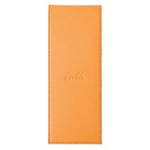 Rhodia Pad Holder Orange Graph Pad With Pen Loop 3 X 8 25 Inch R118098