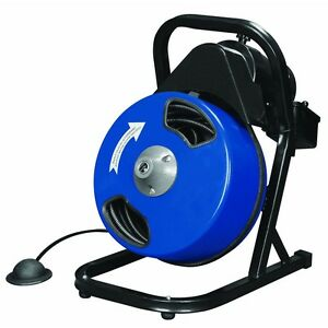 Compact Electric Drain Cleaner 50 Ft New No Tax Free Fedex 48 States