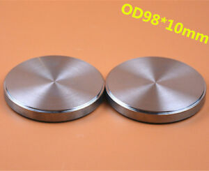 1 Piece Dental Titanium Milling Blank Disc Od98x10mm Grade2 For Cad Cam System