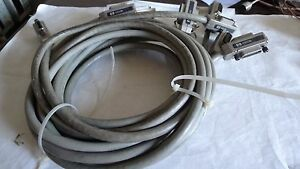 Lot Of 5 Hp 10833b Gpib Cable 2m