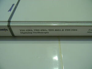 Tektronix Tds 410a Tds 420a Tds 460a Oscilloscopes User Manual P n 070 9219 00