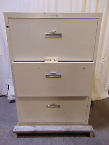 Shaw walker Insulated Filing Cabinet file Cabinet Class 350 3 Drawers