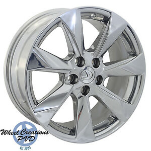 18 Lexus Rx350 450 Pvd Chrome Wheels Rims Factory Oem 2016 2017 74336 Outright