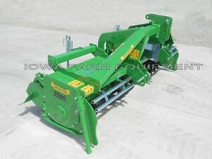 Rotary Tiller 8 6 Valentini U2500 tractor 3 pt pto Qh Compat Hd 140hp Gbox