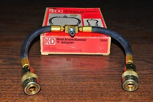 Dual Brake Bleeder T Adapter Kd Tools 3354 Made In Usa