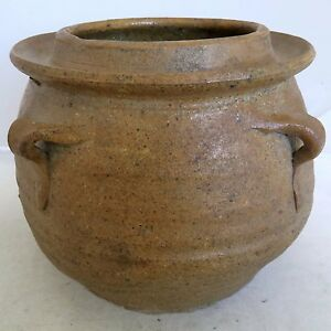 6 1 Song Dynasty Antique Chinese Brown Glazed Earthenware Storage Vessel