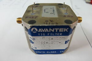 Avantek Yf85 0107 Hp 0955 0277 2 7 26ghz Yig Filter