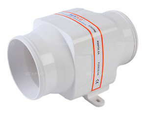 Seaflo 4 12v 270cfm White In line Marine Bilge Air Blower