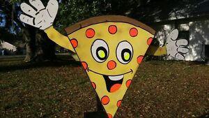 Pizza Sign arms Move Business Sign Spinner Outdoor Pizza Business Sign