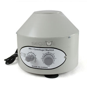 The Best Electric Centrifuge Machine 110v Lab Medical Practice 800 1 4000rpm