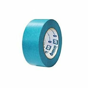 American Am4855 Automotive Refinish 2 2 Inch Aqua Mask Masking Tape 24 Rolls