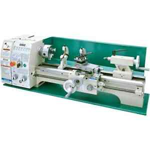 Grizzly G0602 Bench Top Metal Lathe 10 X 22 inch Soon Back To Stock Pre Order
