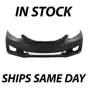 New Primered Front Bumper Cover For 2013 2014 2015 Honda Civic Sedan 13 15