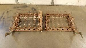 1953 1954 Chevrolet Factory Original Front Seat Lean Backs