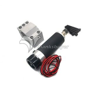 110v 600w 57mm Air Cooling Dc Spindle Motor With Mount For Cnc Router Engraving