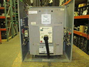 Ge Powerbreak Tprr6620 2000a 3p 600v Mo Circuit Breaker In Do Carriage Used E ok