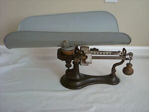 Antique Scale Detecto Lette Junior Doctors Baby Weight Jacobs Bros 2 Cast Iron