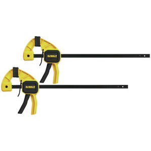 Dewalt 2pk 12 Medium Bar Clamps Dwht83158 New