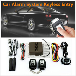 8pcs Car Security Alarm System Starter Keyless Entry Remote Start