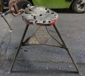 Ridgid 40a Tristand Pipe Vise Bender Clamp Threader