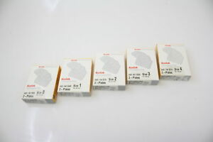 Pack Of New Kodak Dental Systems X ray Imaging Plates Size 0 1 2 3 4 Cr