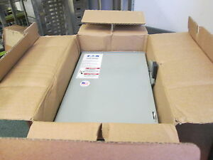 Eaton 3r Fusible Safety Switch disconnect Dg322nrb 60a 240v 4w New Surplus