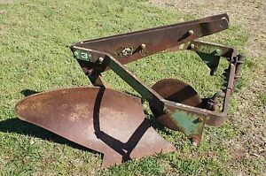 John Deere Jd No 30 1 Bottom Breaking Plow 950 1050 Cat 1 3pt Hitch