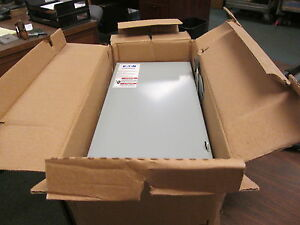 Eaton Non fusible Safety Switch disconnect Dg323ugb 100a 240v 3p New Surplus