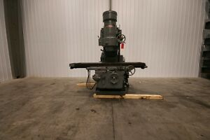 12555 Kearney Trecker Model 430tf 20 Vertical Mill